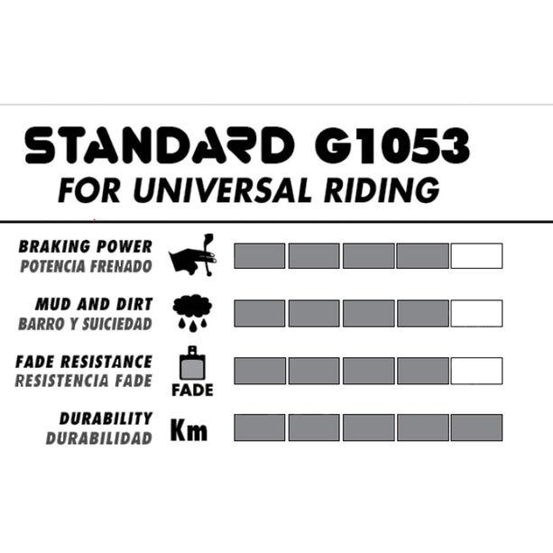 GALFER BIKE Standard Bremsbelag für Shimano Nexave C-910/Deore BR-M555
