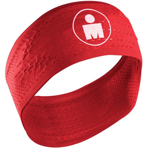 Compressport On/Off Headband Ironman Edition red