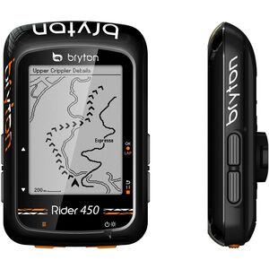 Bryton Rider 450 H HRM Fahrradcomputer schwarz schwarz