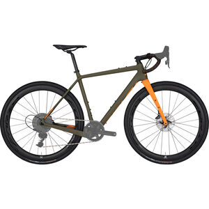 Ridley Bikes Kanzo C ADV Rival1 HD camo green/orange camo green/orange