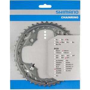 Shimano Deore FC-M590-10 Kettenblatt für KSR 10-fach AE grau grau