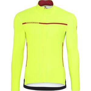 Castelli Perfetto Long Sleeve Jersey Men yellow fluo bei fahrrad.de Online