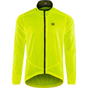 Alé Cycling Guscio Light Pack Jacket Herren flou yellow flou yellow