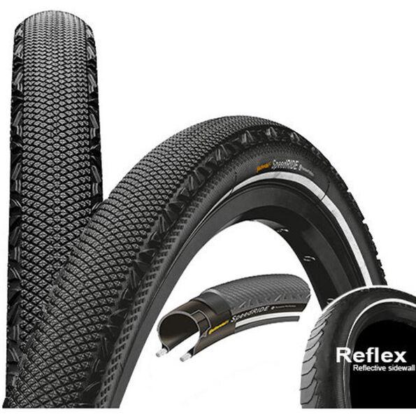 Continental Speed Ride Reifen 28 x 1,60 Zoll Reflex schwarz