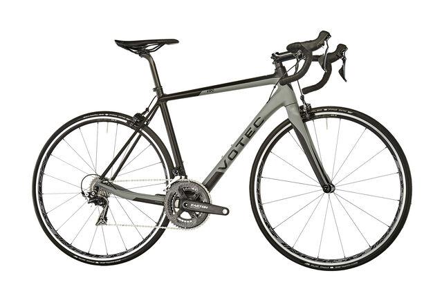 VOTEC VRC Elite Carbon Road black-grey