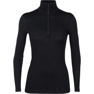 Icebreaker 200 Oasis LS Half-Zip Shirt Damen black black