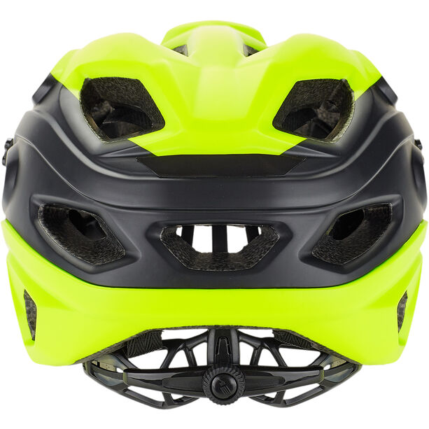 MET Lupo Helm matt safety yellow/black
