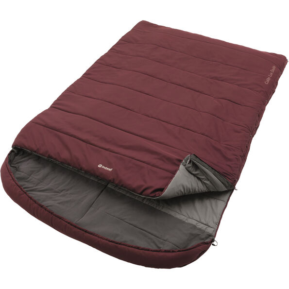 Outwell Colibri Lux Double Sleeping Bag rot