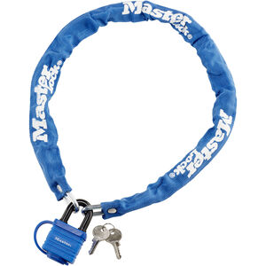Masterlock 8390 Kettenschloss 6 mm x 900 mm blau