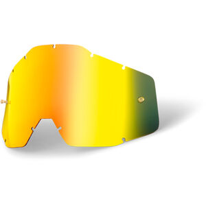 100% Replacement Lenses gold / mirror bei fahrrad.de Online