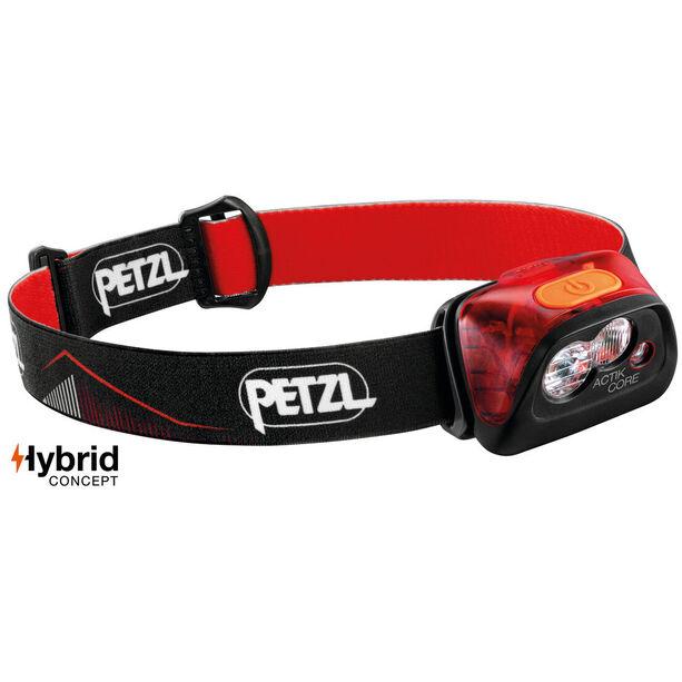 Petzl Actik Core Stirnlampe red