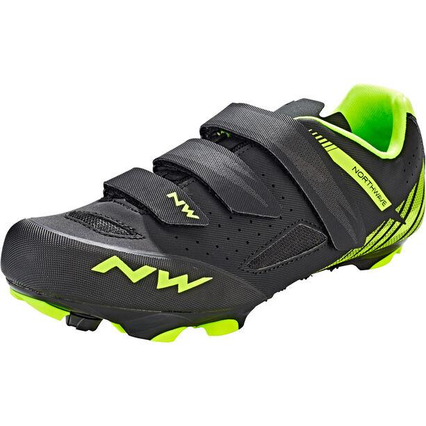 Northwave Origin Shoes Herren black/yellow fluo