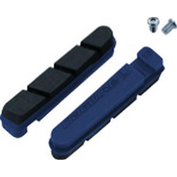 Jagwire Road Pro Bremsbeläge für Shimano/SRAM Carbon 1 Paar blau