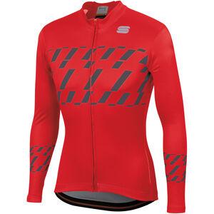 Sportful Tec-Trix Langarm Trikot Herren red/anthracite red/anthracite