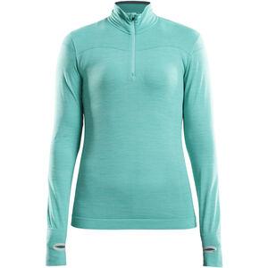 Craft Fuseknit Comfort Zip Shirt Damen paradise melange paradise melange