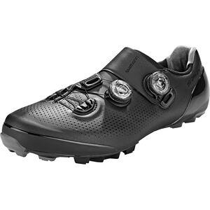 Shimano SH-XC901 Fahrradschuhe Weit Herren schwarz schwarz