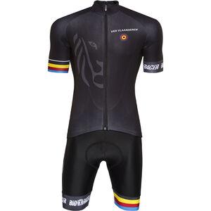 Bioracer Van Vlaanderen Pro Race Bekleidungsset Herren black black