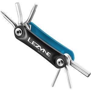 Lezyne RAP-6 Multifunktionswerkzeug blau/schwarz blau/schwarz