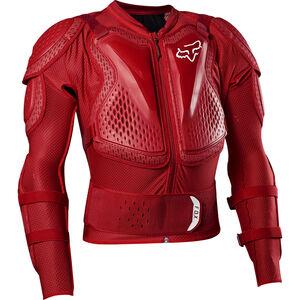 Fox Titan Sport Protektorenjacke flame red flame red