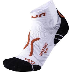 UYN Run Super Fast Socks Men White/Red bei fahrrad.de Online