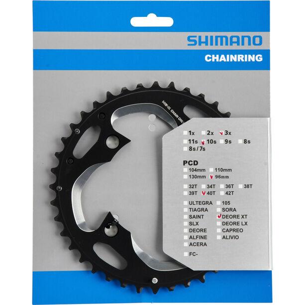Shimano Deore XT FC-M782 Kettenblatt 96 BCD silber