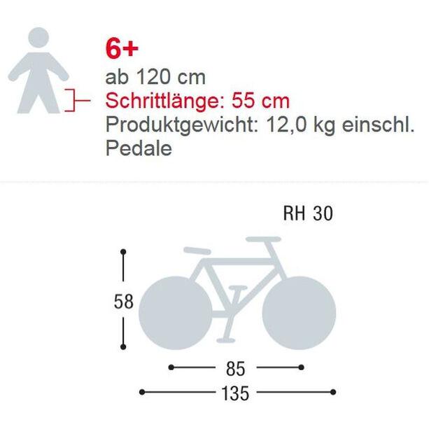 "Puky Skyride 20-3 Alu Light Fahrrad 20"" Kinder lila"