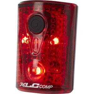 XLC Comp CL-R14 Rücklicht Pan schwarz/rot schwarz/rot