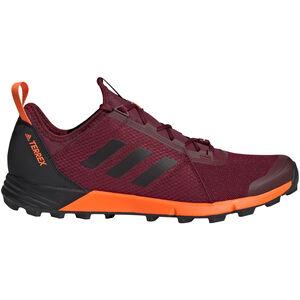 adidas TERREX Agravic Speed Shoes Herren collegiate burgundy/core black/solar orange collegiate burgundy/core black/solar orange