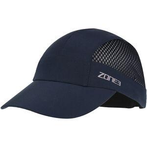 Zone3 Lightweight Mesh Running Baseball Cap petrol/reflective silver petrol/reflective silver