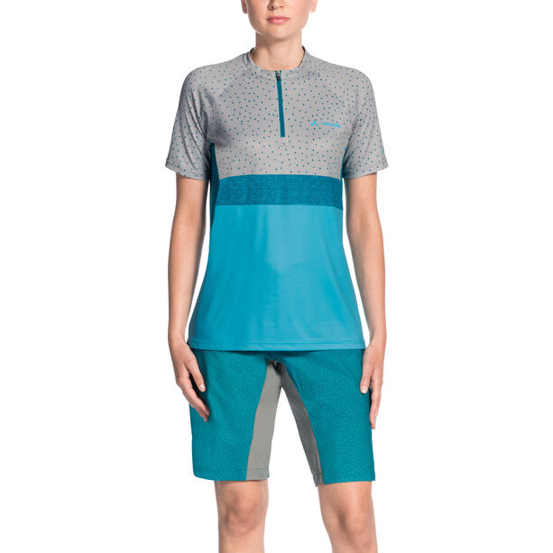 VAUDE Ligure Shirt Damen pewter grey