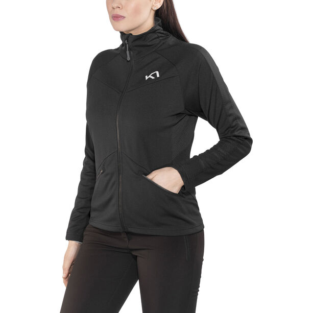 Kari Traa Louise Midlayer Fleece Damen black