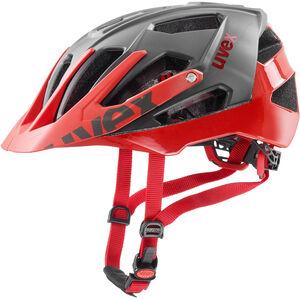 UVEX Quatro Helmet grey/red grey/red