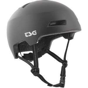 TSG Status Solid Color Helmet satin black satin black