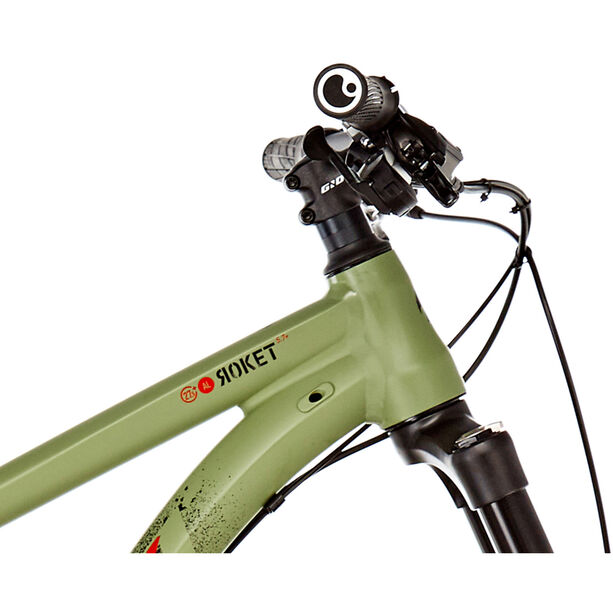 "Ghost Roket 5.7 AL 27,5+"" army green/night black/riot red army green/night black/riot red"