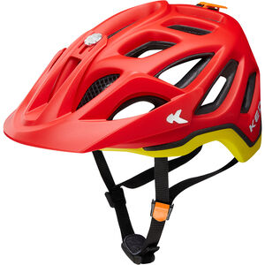 KED Trailon Helmet red yellow matt red yellow matt