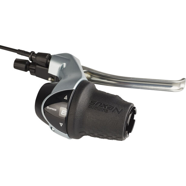 Shimano Nexus SB-C6000-8 Schalt-/Bremshebel Drehgriff für CJ-8S40 8-Gang rechts silber