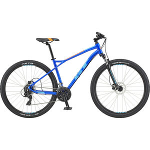 "GT Bicycles Aggressor Expert 29"" gloss electric blue gloss electric blue"
