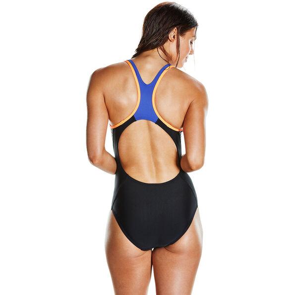 speedo Fit Laneback Swimsuit