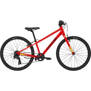 "Cannondale Quick 24"" Jungs acid red acid red"