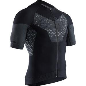 X-Bionic Twyce G2 Fahrrad Zip Trikot SS Herren black melange black melange