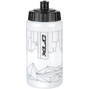 XLC WB-K04 Trinkflasche 500ml City of Mountains white white
