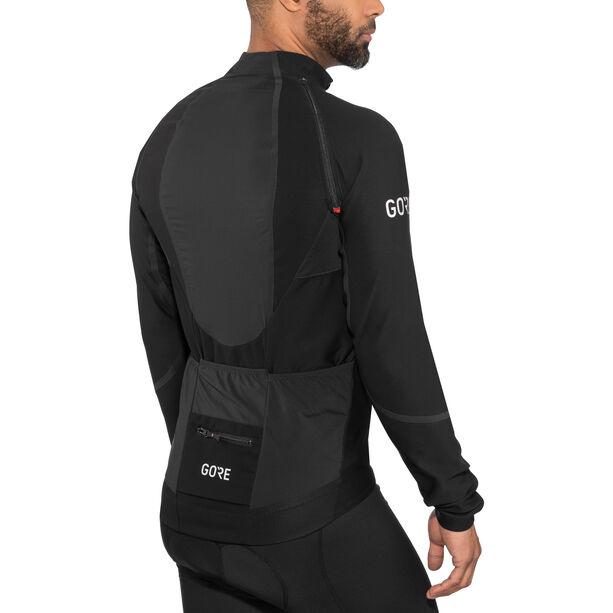 GORE WEAR C7 Pro Zip-Off Jersey Herren black