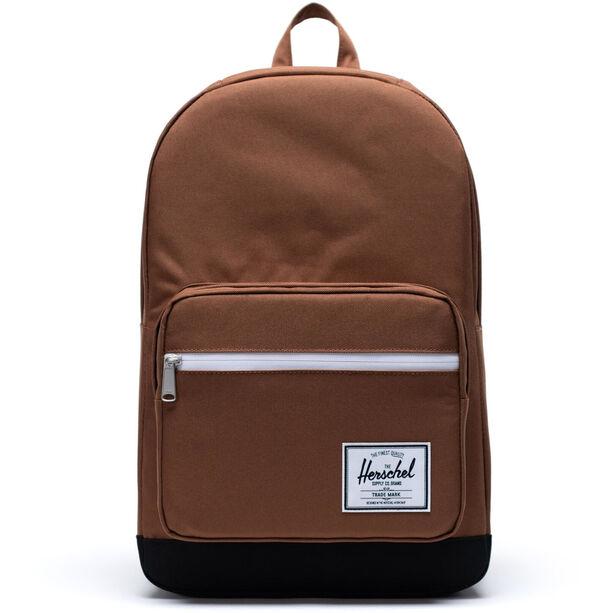 Herschel Pop Quiz Backpack saddle brown/black