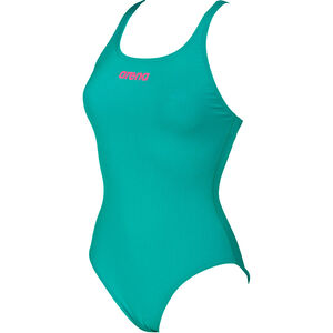arena Solid Swim Pro One Piece Swimsuit Women persian green-aphrodite