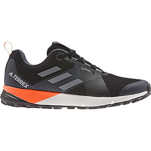 adidas TERREX Two GTX Low-Cut Schuhe Herren core black/grey/solar orange core black/grey/solar orange