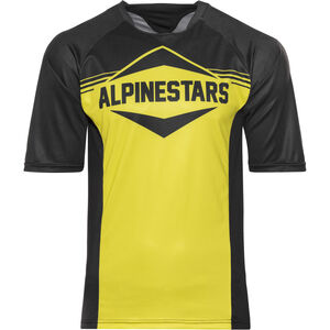 Alpinestars Mesa Shortsleeve Jersey Herren black yellow black yellow