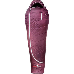 Grüezi-Bag Synpod Island 175 Sleeping Bag Women Berry