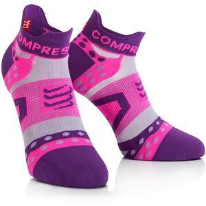 Compressport Pro Racing Ultralight Run Low Socks purple purple