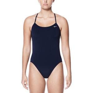 Nike Swim Poly Core Solid Cut-Out One Piece Women Midnight Navy bei fahrrad.de Online