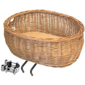 Basil Pluto Front Wheel Animal Basket natur natur